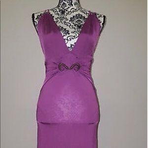 Just Cavalli purple dress